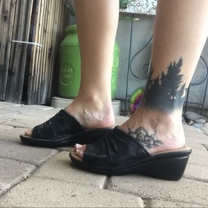 Naturalsoft wedge sandals